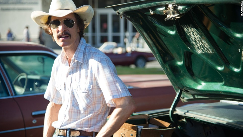 "<strong>Best actor in a motion picture, drama: </strong>Matthew McConaughey, ""Dallas Buyers Club"""