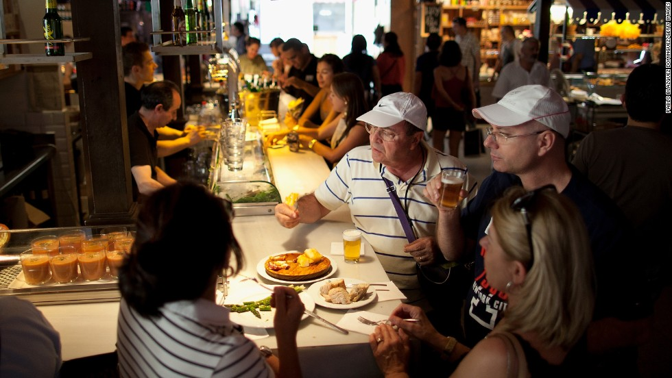 Tapas remains a lifeblood of Spanish life even more so in a struggling economy where it remains the cheap way of eating out. So delve into the delights of the various eateries of the city.