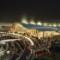 Abu Dhabi Midfield Terminal rendering exterior
