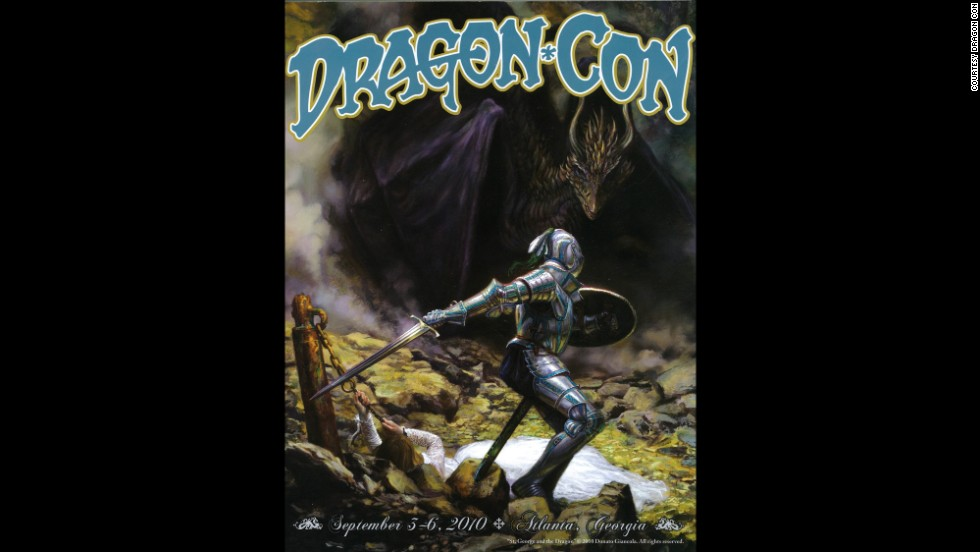 """St. George and the Dragon"" by Donato Giancola in 2010"