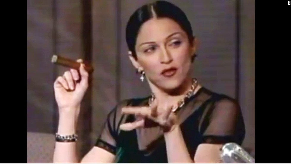 In March 1994, Madonna severely tested Letterman's mettle in an exchange that's become a standout late night moment. Letterman introduced Madge as a top-selling pop star who'd slept with some of the biggest names in the industry, which prompted Madonna to go off a very profane deep end. At last count, somewhere around 13 F-bombs were dropped over the course of the interview.