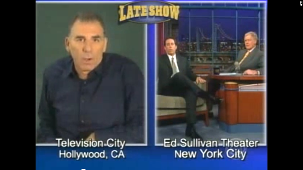 "When you need to make a massive apology, it makes sense to turn to the well-respected Letterman to help you out. That's what ""Seinfeld's"" Michael Richards ended up doing in November 2006, with help from Letterman's guest of the night, Jerry Seinfeld. Richards, however, wasn't in the studio -- he made his apology via satellite after coming under fire for using the N-word during a tirade at a comedy club. ""Awkward"" doesn't begin to describe the appearance."