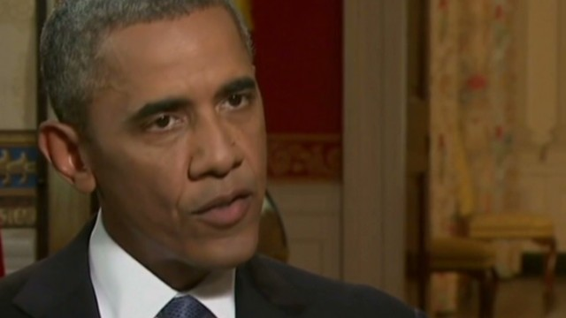 Obama reacts to Syria chemical crisis