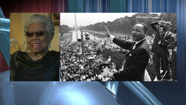 Anderson and Dr. Maya Angelou Part 1