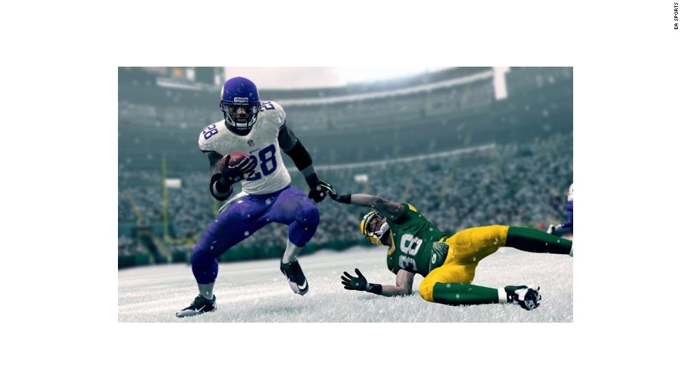 What knee injury? The way he bounced back last season made the Vikings' <strong>Adrian Peterson</strong> the No. 1 running back in this year's game. His 99 rating includes 98s in both Agility and Trucking. Good luck stopping AP.