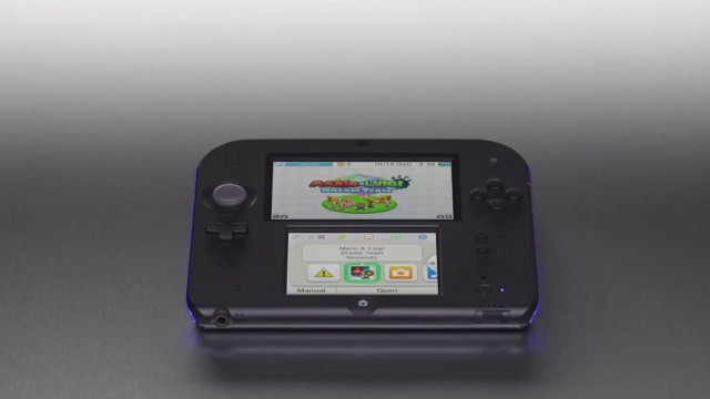 Nintendo talks 2DS, Wii U price drop
