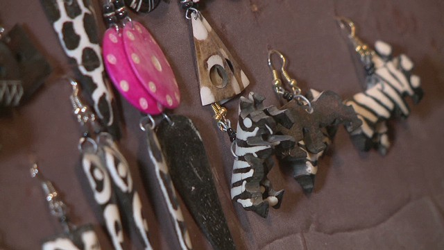 Turning bones into jewelry