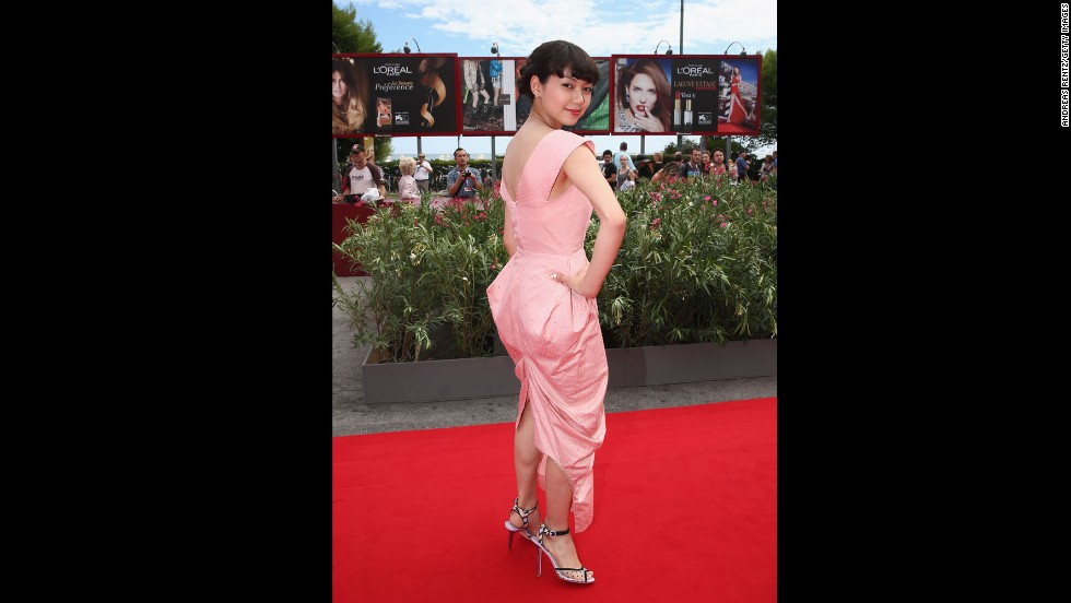 """Actress Fumi Nikaido attends the """"Why Don't You Play In Hell?"""" premiere."""