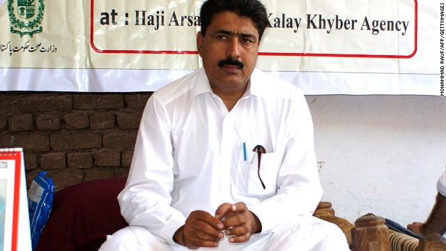 This photograph taken on July 22, 2010, shows Pakistani surgeon Shakeel Afridi who helped the CIA  find Osama bin Laden.