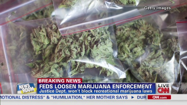Feds loosen marijuana enforcement