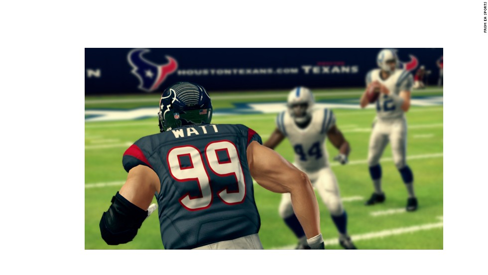 "Houston's <strong>J.J. Watt</strong>, the reigning NFL Defensive Player of the Year, was a clear choice for top defensive lineman and a 99 ""Madden"" rating. Watt racked up 20.5 sacks and four forced fumbles last season."