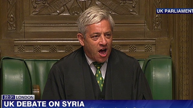 UK's David Cameron defeated on Syria
