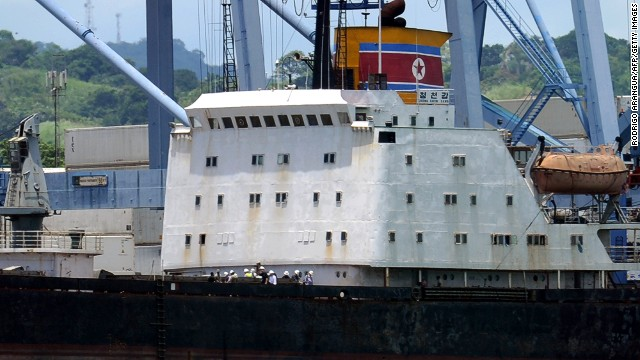Panama has released 32 of 35 detained crew members of a North Korean ship that last year tried to cross the Panama Canal with weapons smuggled aboard.
