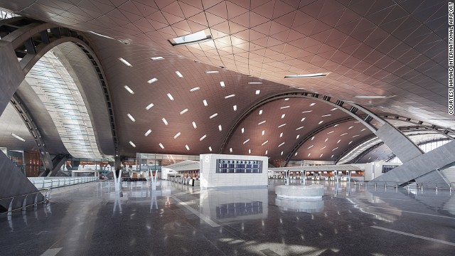 Doha's new Hamad International Airport is set to soft-launch later this year. It covers an area equivalent to two-thirds the size of the city.