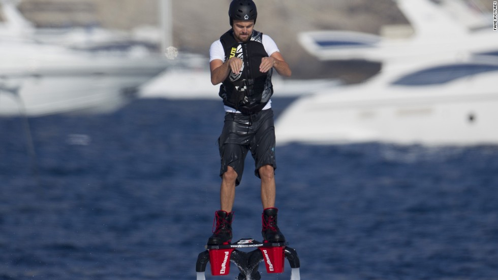 "After ""The Great Gatsby"" did just OK, the best place to find Leonardo DiCaprio this summer was on vacation. The actor traipsed off to Ibiza, Spain, where he donned a jetpack and went flyboarding."