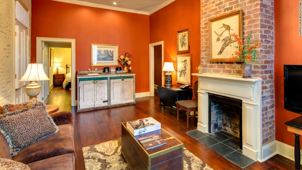 """There's always a party happening in New Orleans, but you can find a peaceful European-style oasis just a block away from Bourbon Street at the <a href=""""http://www.auduboncottages.com"""" target=""""_blank"""">Audubon Cottages</a>. Bliss out poolside at the oldest saltwater pool in the French Quarter or relax on your private patio. A butler caters to guests in seven private cottages tastefully decorated with antiques. Naturalist John Audubon stayed here while penning his famed """"Birds of America"""" series.  Fall rates start at $499 per night, double occupancy."""