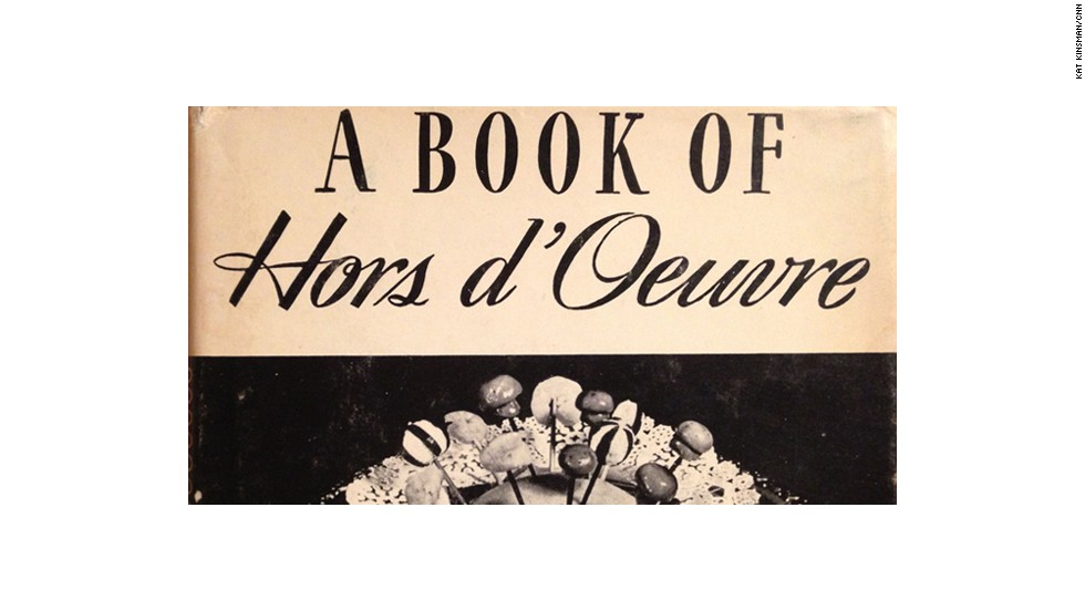 A Book of Hors d'Ouevre by Lucy G. Allen (1941)  -- a tremendous proponent of bacon as a snack.