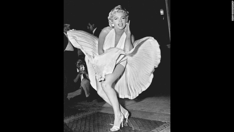 "Five decades after her death, Marilyn Monroe remains one of Hollywood's most adored sex symbols. Her sultry legacy is often traced back to the 1954 image of her posing over a New York City subway grate in character for the filming of ""The Seven Year Itch."" Monroe's then-husband, Joe DiMaggio, reportedly witnessed the spectacle and became enraged with jealousy. They divorced weeks later."