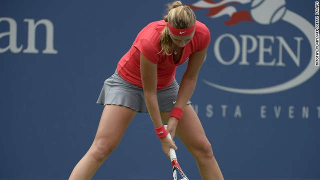 Petra Kvitova's struggles in New York continued as she lost in the third round at the U.S. Open.