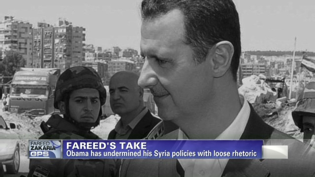 Fareed's Take: Obama's response to Syria