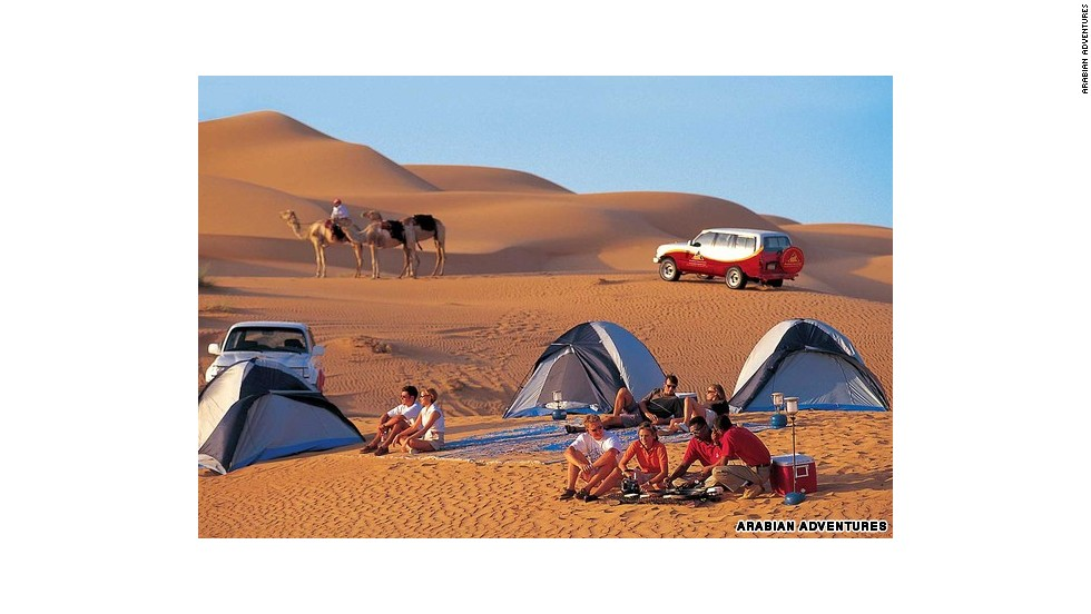 Dune-bashing (conducir por las dunas) en Dubái