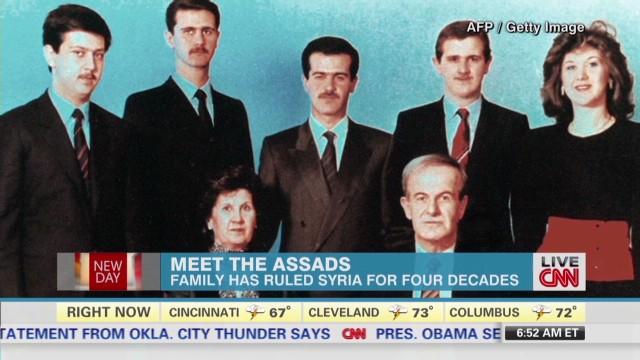 Understanding Syria's Assad family