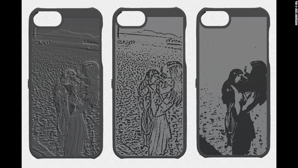 New technology from Cubify lets you print your favorite photo onto common products such as iPhone cases in 3-D.