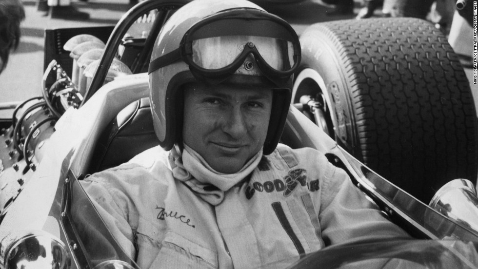 New Zealander Bruce McLaren came to England in 1958 and founded his eponymous race team in 1963 going on to win a first grand prix in a McLaren in 1968.