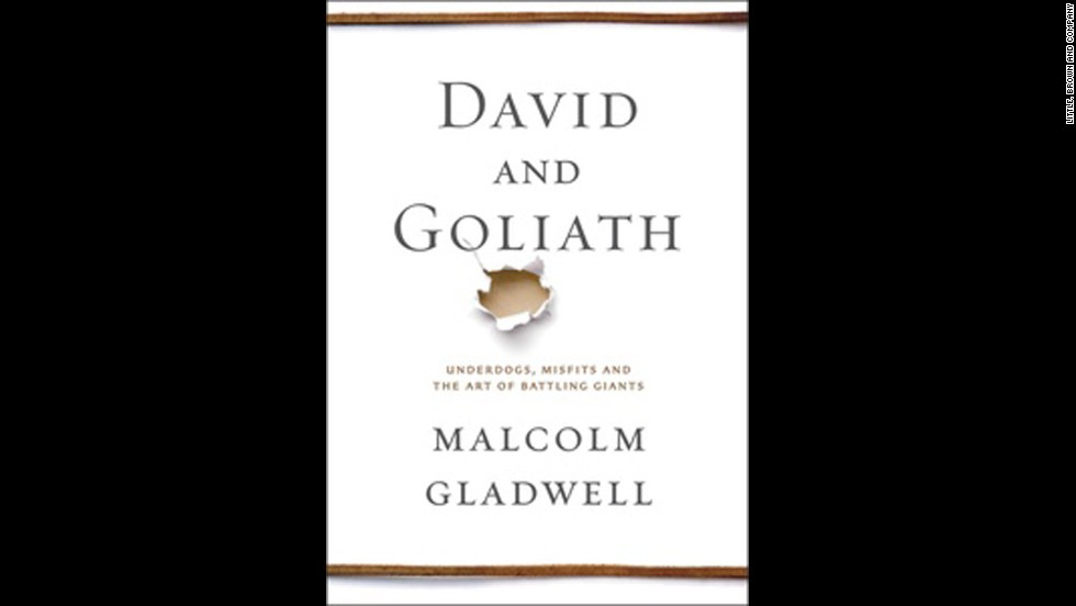 "<strong>""David and Goliath"" by Malcolm Gladwell:</strong> The newest book by the ""Tipping Point"" author concerns modern extensions of the biblical story of the boy who beat the giant. How do people who seem weak turn out to be strong -- and have successful careers? Gladwell told BookTV that he was inspired in part by the story of an Indian immigrant in Silicon Valley who molded a winning basketball team; the book also discusses entrepreneurs who succeeded because of their disorders, not in spite of them. The key, he says, is ""adaptation."" (October 1)"