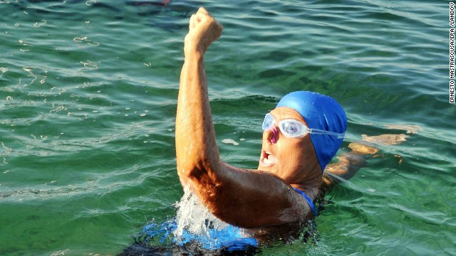 Diana Nyad: 'Chase your dreams'