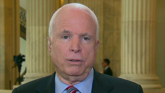 McCain: Government won't shut down again