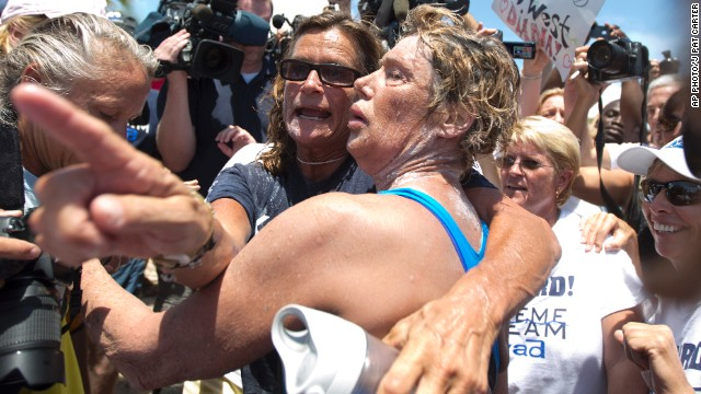 Diana Nyad: 'Find a way'