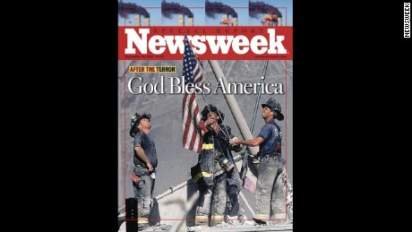 Newsweek Cover Featuring Photo from Thomas Franklin of Ground Zero for CNN.com Gallery Only
