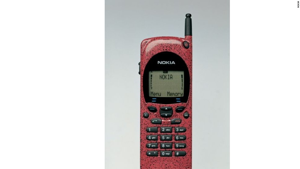 Nokia 2110, from 1994. Nokia, which was the number one seller of mobile phones globally in 2007, had a tough few years before the stewardship of Stephen Elop slowly started to turn it around.