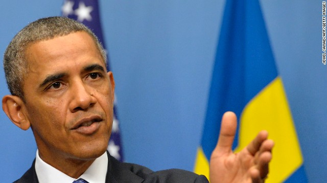 Obama: 'I didn't set a red line' with Syria