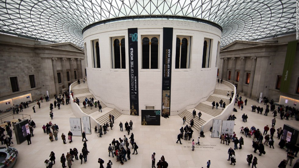 "The British Museum was started in the mid-18th century from the personal collection of Sir Hans Sloane and, except for two world wars, has remained open since. It will open two temporary exhibitions this fall; ""Shunga: Sex and Pleasure in Japanese art"" on October 3, and ""Beyond El Dorado: Power and Gold in Ancient Colombia"" on October 17."