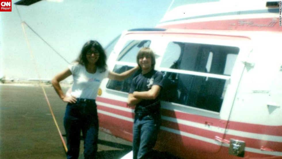 "The '80s seemed to offer more opportunities for people to find jobs and pursue their dreams, says Marie Sager, who was a divorced mom of two boys in 1981. Sager loved working as a member of a Las Vegas helicopter company <a href=""http://ireport.cnn.com/docs/DOC-1019729"">ground crew</a> (also known as a ""helicopter hooker"") and later started her own helicopter company."