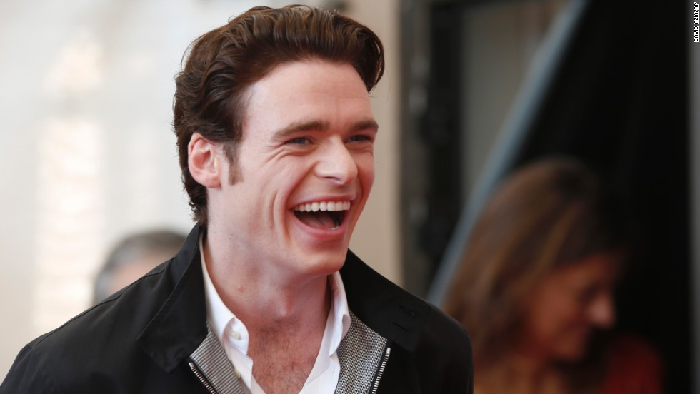 "Actor Richard Madden poses for photographers during the photo call for the film ""A Promise"" on September 4."