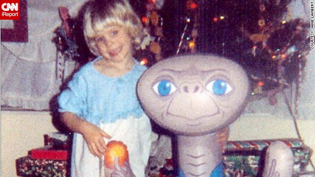 "Janie Lambert's five year old, Jennie, was enthralled with the movie ""E.T."" in 1982. ""She thought having an E.T. would be such a fun thing. She even invented a pretend E.T. of her own and would play for hours,"" Lambert said. If there was a full or almost-full moon, Jennie would watch out the window to see if she could spot the extra terrestrial."