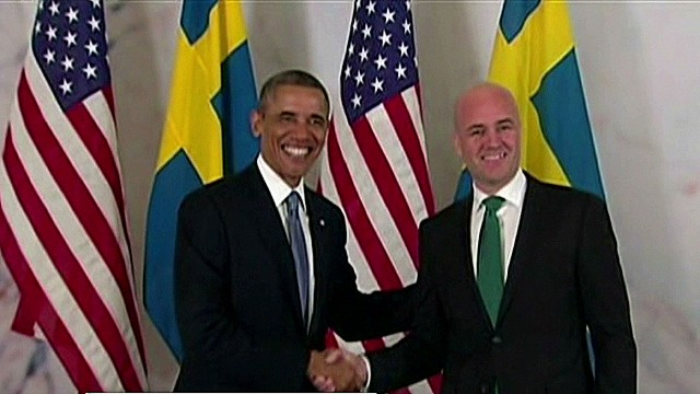 Can Obama sway Sweden on Syria?