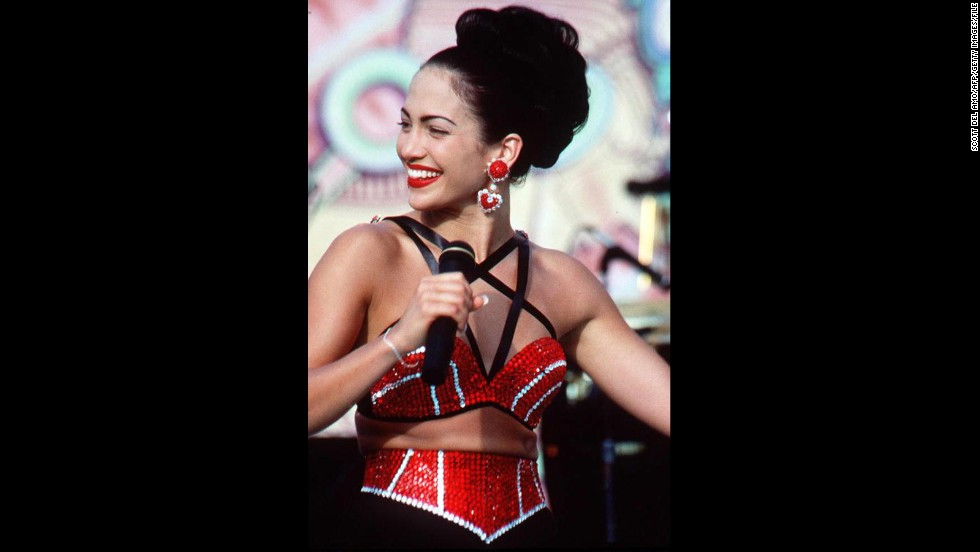 """When Jennifer Lopez was picked to play Mexican-American singer Selena in a biopic about the singer's sadly shortened life, critics shook their heads <a href=""""http://www.ew.com/ew/article/0,,293710,00.html"""" target=""""_blank"""">and a few even protested</a>. How could Lopez, a Puerto Rican-American who had yet to show any vocal range, take on the legacy of immensely talented Tejano songbird? With lip-syncing and commitment. """"Selena"""" wound up being one of Lopez's standout performances."""