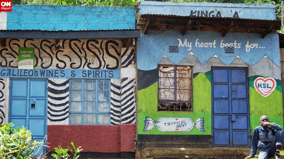 "Taken on the road through the Great Rift Valley between Nyeri and Lake Begoria. ""Driving in rural Kenya provides an opportunity to take in the incredible colour and vibrancy provided by the shop fronts and names in villages all over the country,"" says <a href=""http://ireport.cnn.com/docs/DOC-1008460"" target=""_blank"">iReporter Sally Walton</a>."