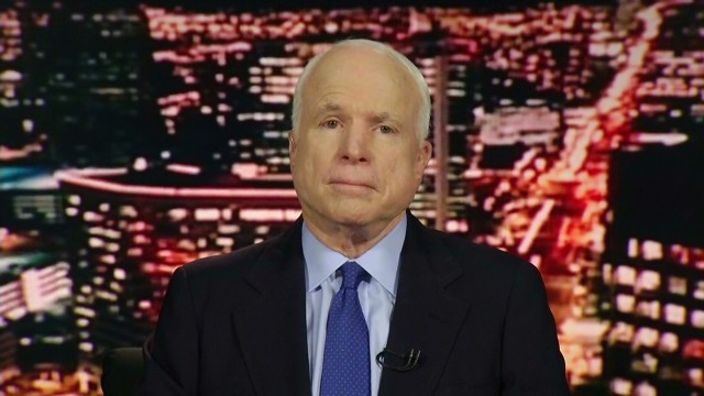 McCain: This is a regional conflict