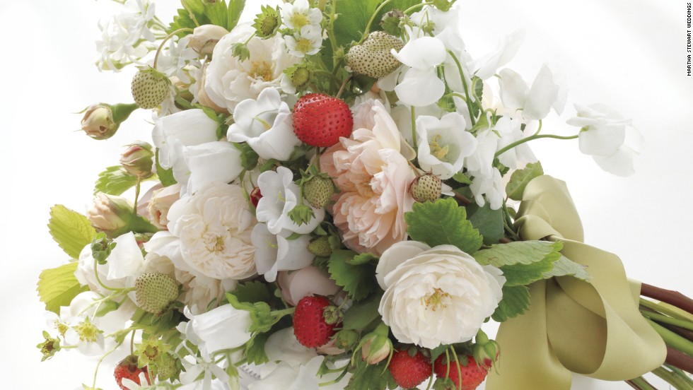 <strong>Flowers and gifts for bridal attendants, the groom's ring, and a present for him</strong> -- The bride.