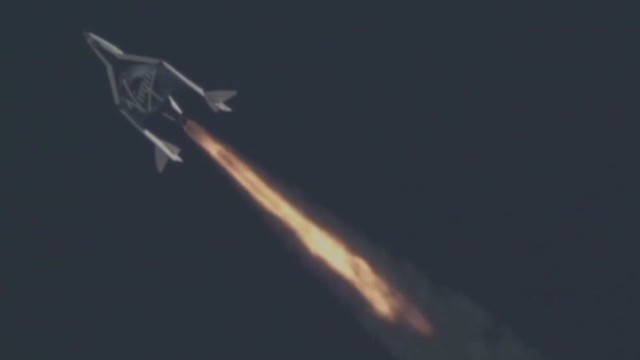 Virgin Galactic's 2nd successful flight