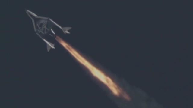 Virgin Galactic's 2nd successful flight