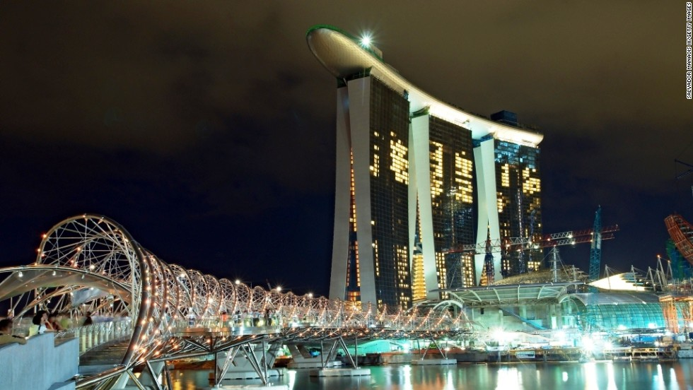 Just like Paris, Singapore averages 38 square meters for every $1 million spent on luxury property.