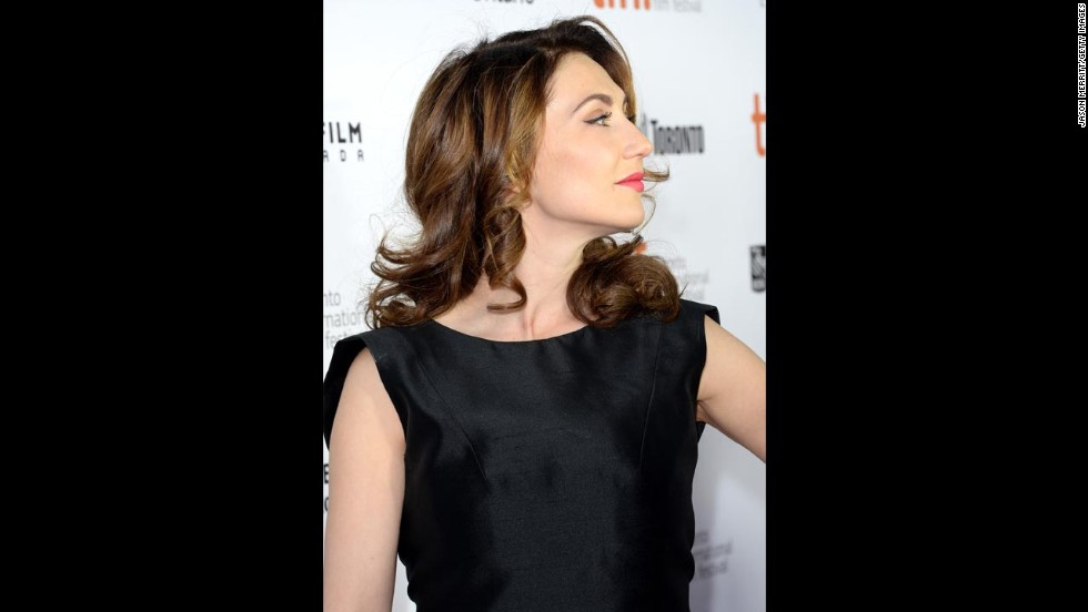 "Actress Carice van Houten attends ""The Fifth Estate"" premiere on September 5."