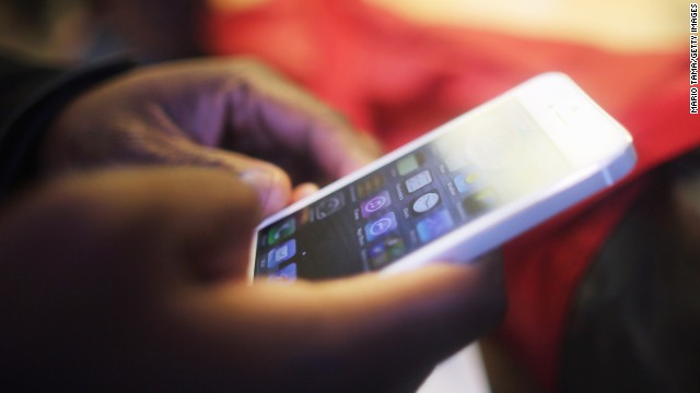 The iPhone 5's screen is 4 inches across. Future iPhones may be bigger.