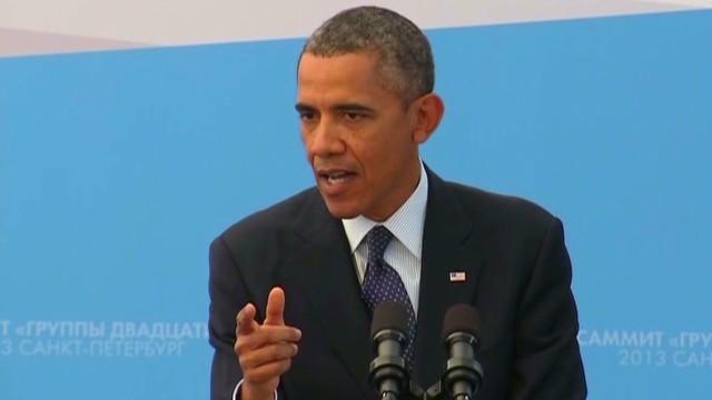 Brianna Keilar questions Obama on Syria